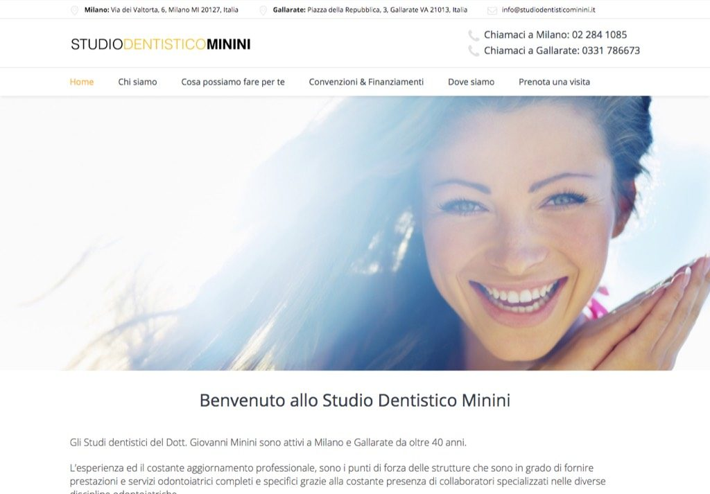 Portfolio: StudioDentisticoMinini