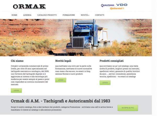 Portfolio: Ormak.it