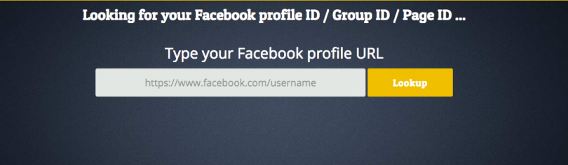 Come trovo la mia ID su Facebook