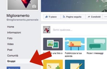 Facebook-Guida-come-collegare-gruppi-a-pagine-In-Italiano-passo-02-clicca-su-gruppi-dal-menu-a-sinistra